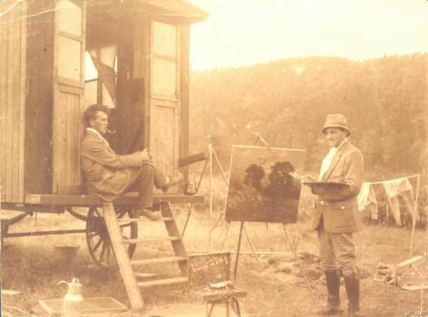 Bruijnesteijn en Ligtelijn, ca. 1916.